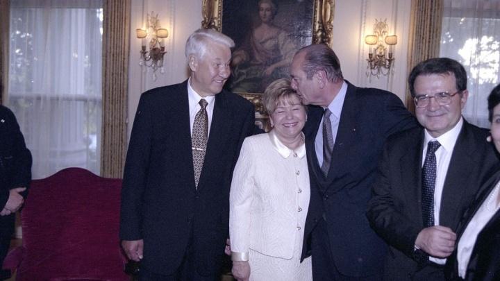 Наина Ельцина о Жаке Шираке: «Он подарил моему внуку машинку и играл с ним на полу резиденции»