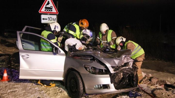 «Автомобиль был сильно искорежен»: появилось видео с места ДТП, в котором погибла архангелогородка