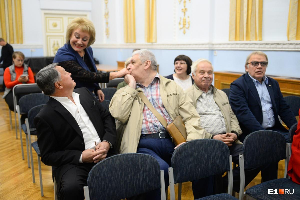 На презентацию пришли ведущие архитекторы и генеральный директор Свердловского областного краеведческого музея Наталья Ветрова
