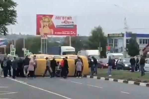 В Шахтах в аварии пострадала 25-летняя девушка