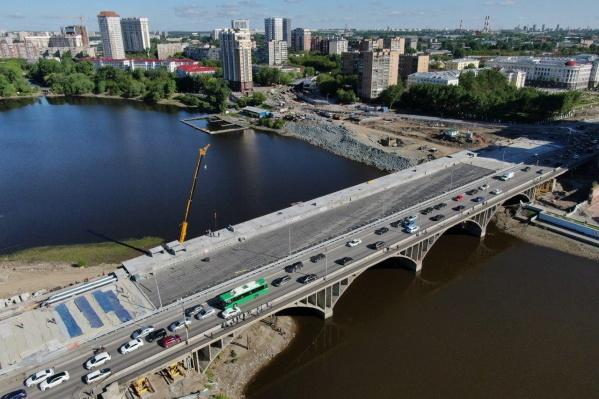 Мост выглядит почти готовым