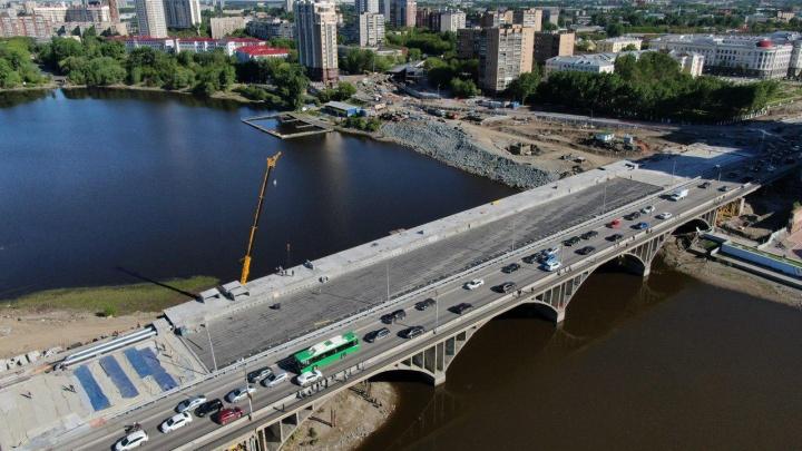 Большую часть уже построили: разглядываем Макаровский мост с высоты