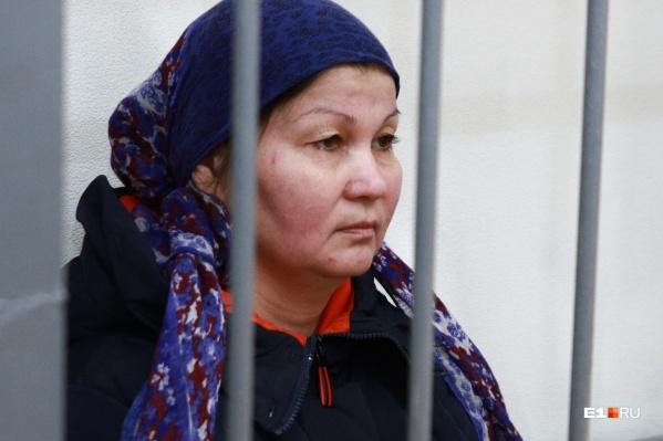 Земфира Гайнуллина на заседании 23 января отрицала свою причастность к преступлениям