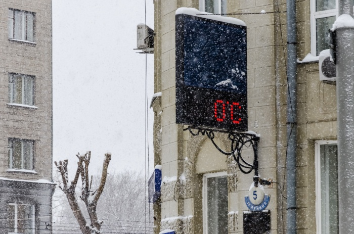 Сегодня, 22 ноября, в Новосибирске днём потеплеет до нуля градусов