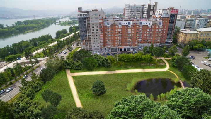 Будет город-сад. Показываем Красноярск, где вместо строек и промзон появились огромные парки