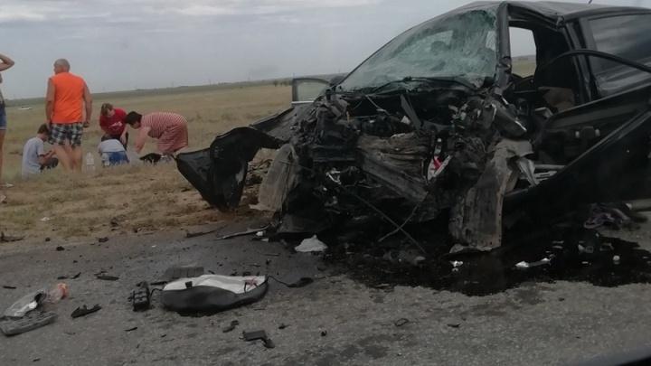 Семья из Прикамья разбилась на трассе в Волгоградской области