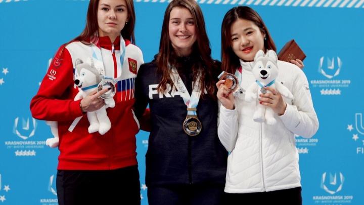 Золото — наше! Челябинка в составе сборной России по шорт-треку победила на Универсиаде-2019