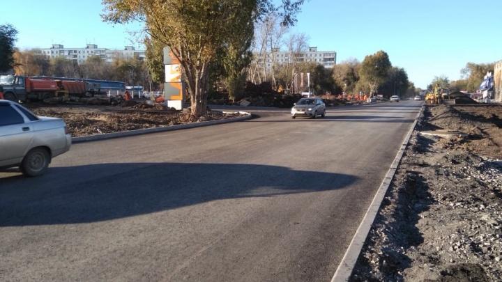 На месте провала — ровная дорога: на Алма-Атинской — Черемшанской открыли движение транспорта