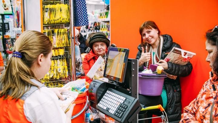 Открытие обновленного «Галамарта»: электрочайник за 199 рублей и карта на скидку 15% в подарок