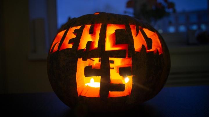 Самые страшные тыквы на Хеллоуин