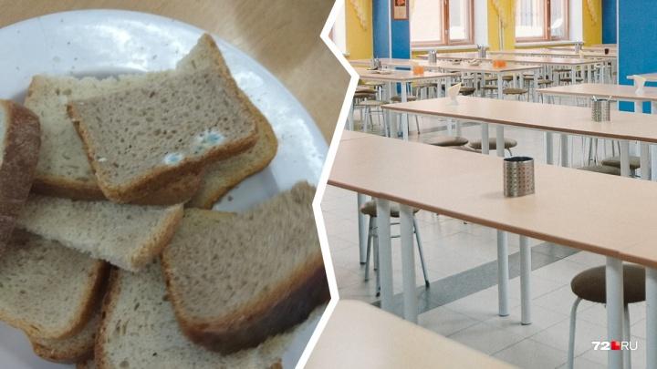 Шестиклассники тюменского лицея пожаловались на хлеб с плесенью в столовой. Поставщик все отрицает