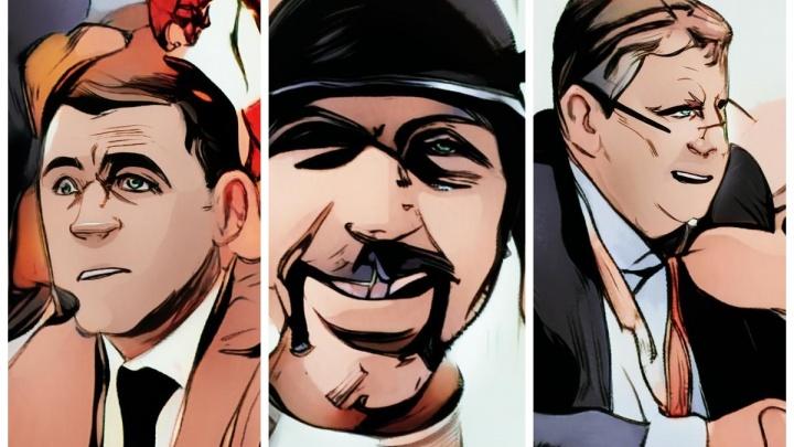 Как Куйвашев, Коляда и Чернецкий выглядели бы в комиксах: развлекаемся в приложении Bubble Face