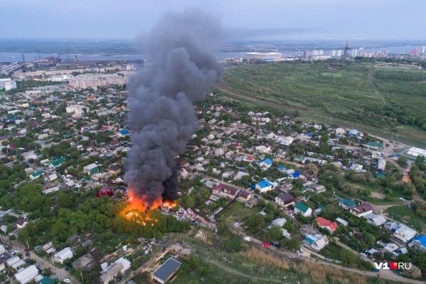 Пожарным негде было набрать воды у главной высоты России