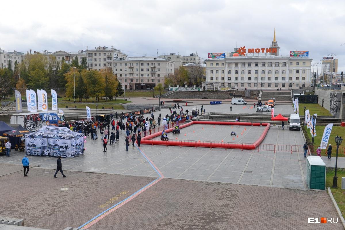 Фестиваль провели на Плотинке