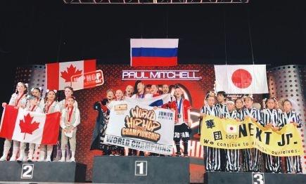 Красноярские школьники приехали вАризону истали чемпионами похип-хопу