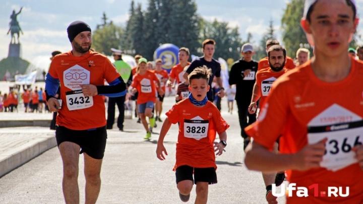 Международный марафон в Уфе пробежали 3,5 тысячи спортсменов