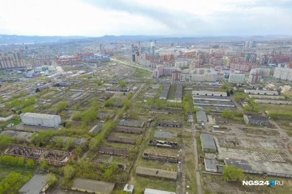 Военный городок на Малиновского