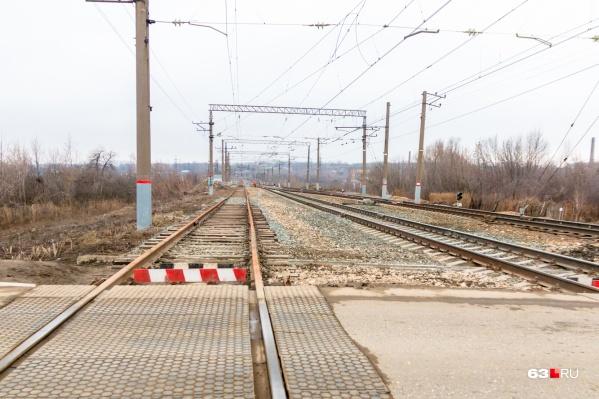Всего в Самарской области 166 железнодорожных переездов