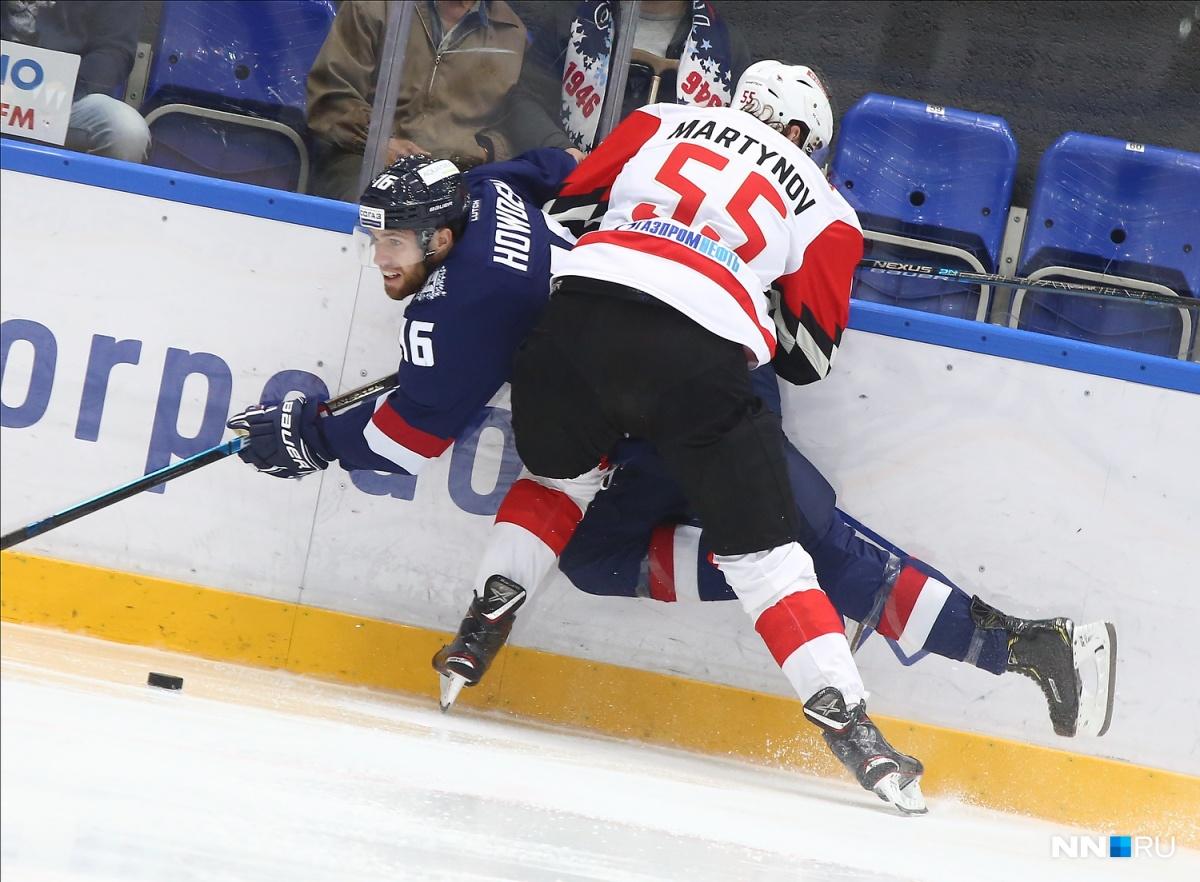 Нижегородским хоккеистам удалось одержать уверенную победу в домашнем матче 15 сентября