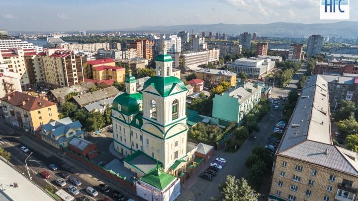 Две улицы в центре Красноярска перекрывают ради крестного хода