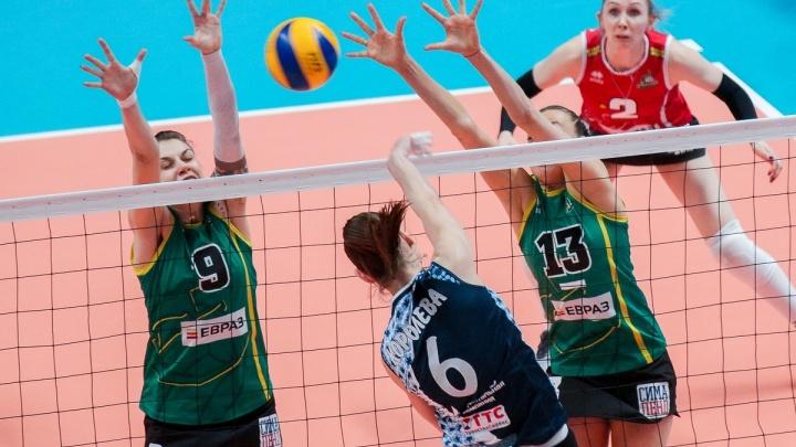 Волейболистки «Уралочки» уступили «Динамо» во втором матче «бронзовой серии» чемпионата России