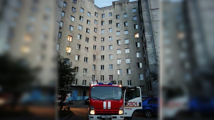 DVD-проигрыватель стал причиной возгорания в квартире на Олимпийской
