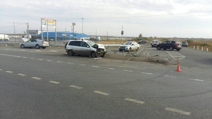 В Кетовском районе в аварии погиб пассажир