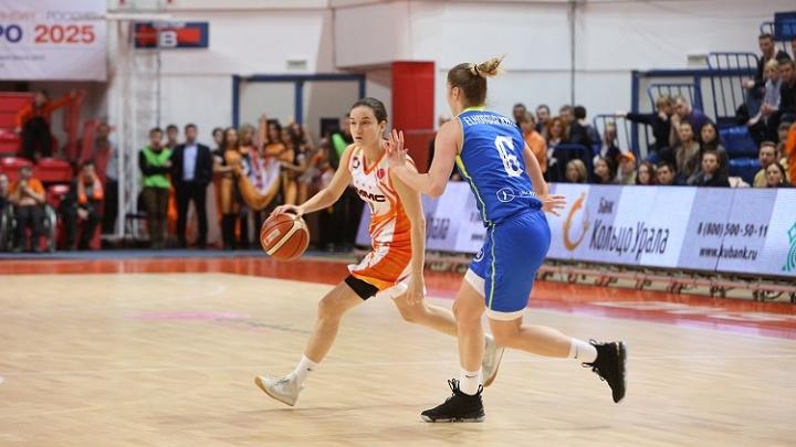 Баскетболистки «УГМК» победили чешский клуб и сделали первый шаг к «Финалу четырёх» Евролиги