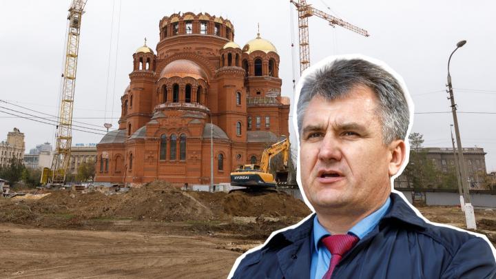 Вышел из доверия: главе Центрального района Волгограда не простили вырубку сквера за храмом Невского