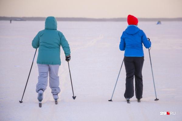 А вы где предпочитаете кататься на лыжах?