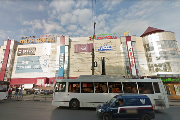 Разрастаться торговые площади будут в сторону улицы Свободы
