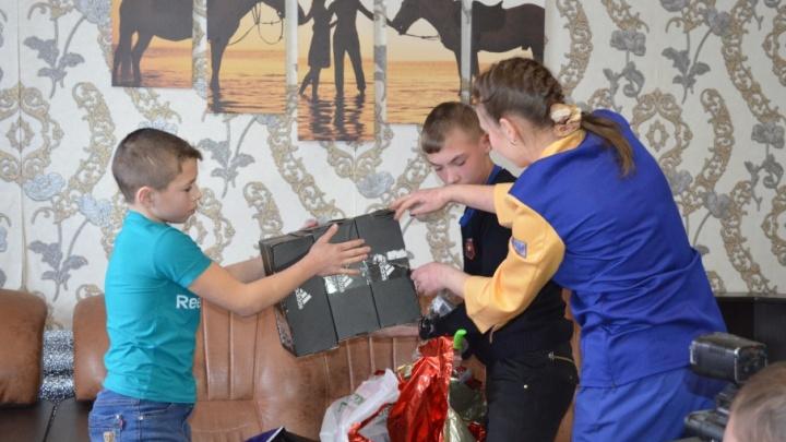 За лучшую мечту: 11-летний зауралец получил подарок от сборной России по футболу