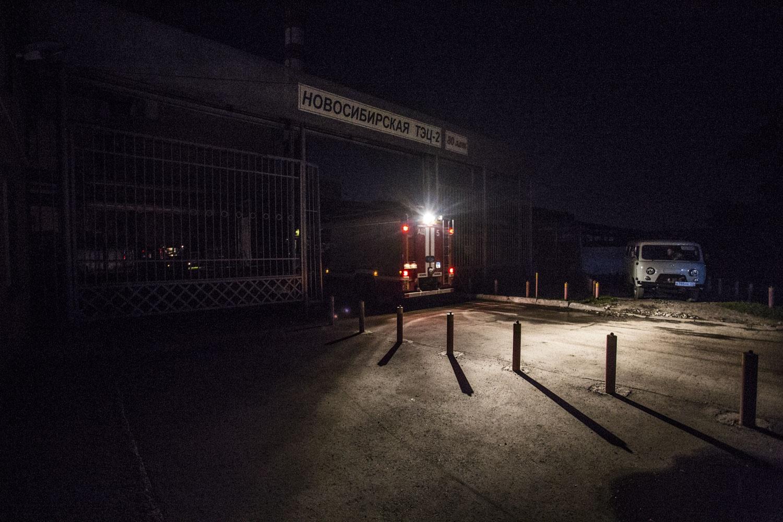 Свет во время пожара отключился не только в районе подстанции, но и в значительной части Ленинского района