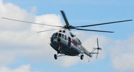 На поиски туриста к перевалу Дятлова вылетел вертолёт Ми-8 МЧС России