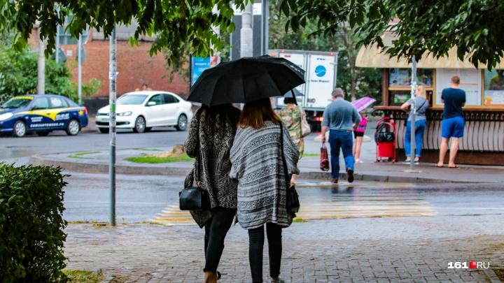На первомайские праздники в Ростове ожидается дождь
