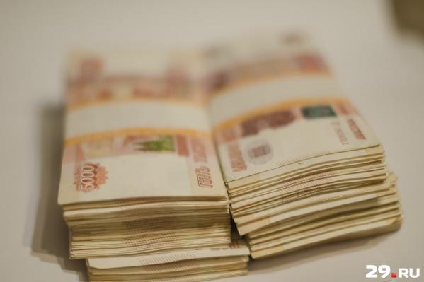 На 1 февраля 2019 года кредитный портфель юридических лиц архангельского филиала РСХБ насчитывает около 800 миллионов рублей