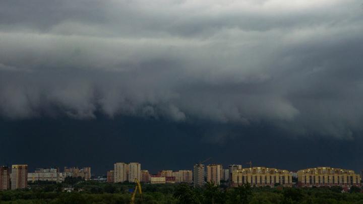 МЧС объявило о штормовом предупреждении в Омской области