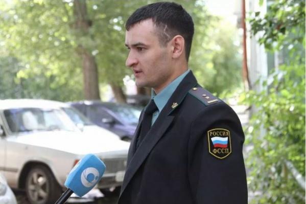 Сорокин работает в ФССП два года