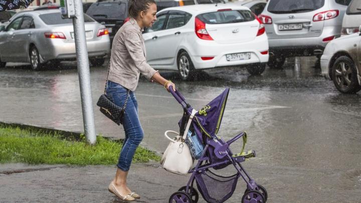 Лето отменили: в Новосибирск придёт новая волна дождей