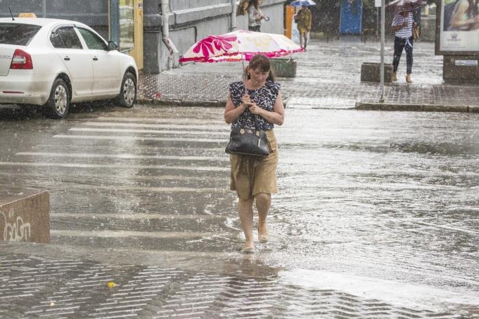 В ближайшие три дня в Новосибирске будут идти дожди