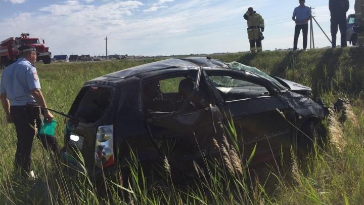 «Вылетела в кювет»: пенсионерка и ребёнок погибли при перевороте машины в Челябинской области