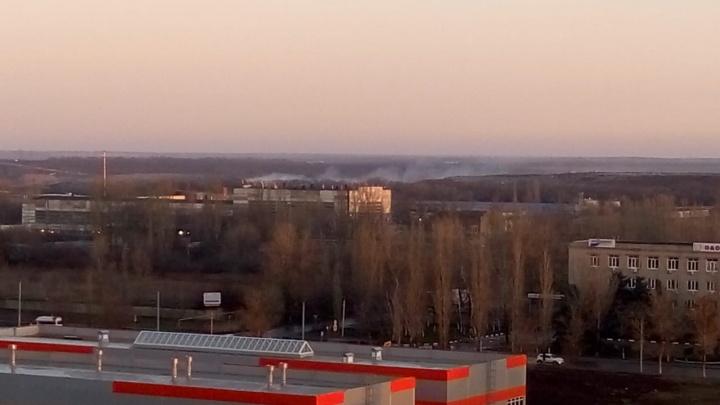 Не потушить: на Левенцовке в очередной раз загорелся мусорный полигон