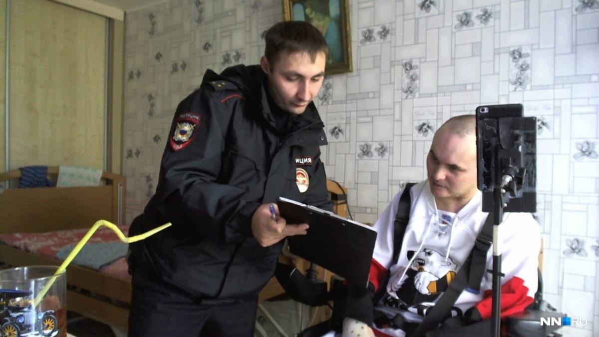 Инвалида первой группы посчитали террористом в Нижнем Новгороде