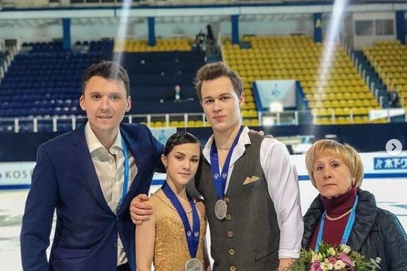 Пермская пара фигуристов Аполлинария Панфилова и Дмитрий Рылов взяла золото на юношеской Олимпиаде
