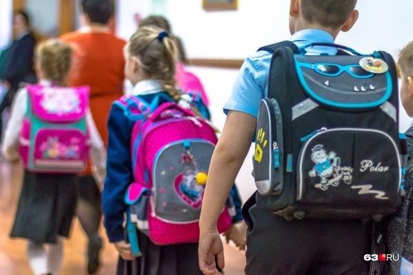 Идти в первый класс не страшно, если рядом старший брат