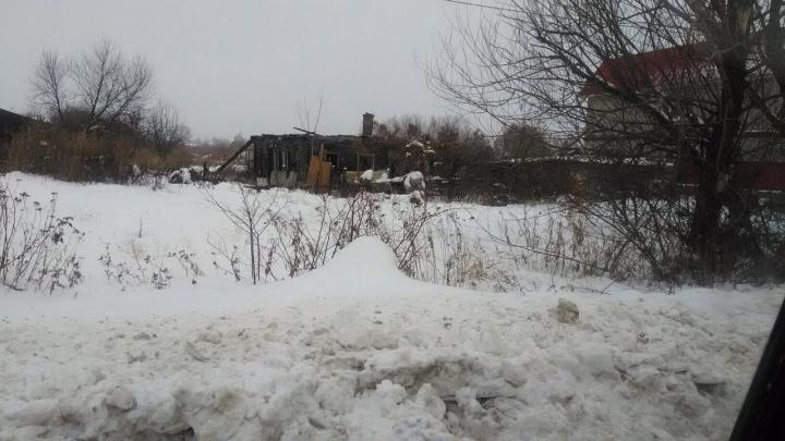 Во время пожара в частном доме сгорели двое жителей Самарской области