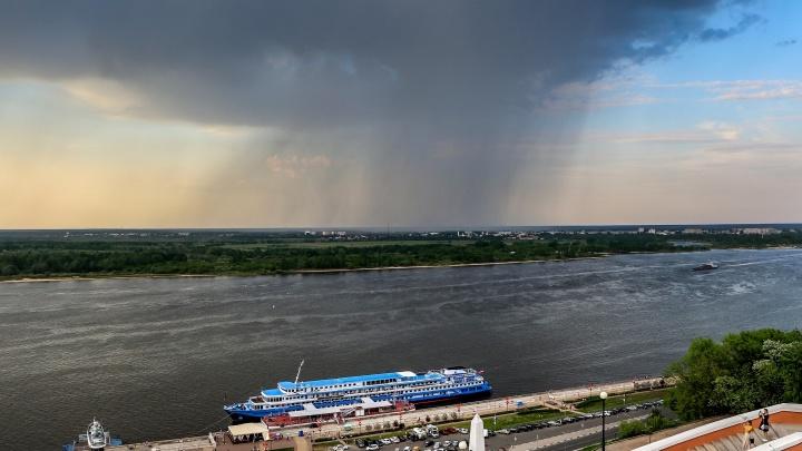 Грозы и сильные дожди ждут нижегородцев сегодня