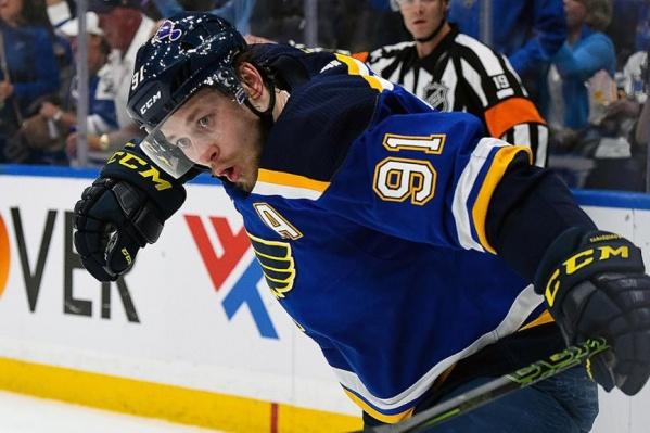 Владимир Тарасенко помог своей команде взять главный трофей НХЛ