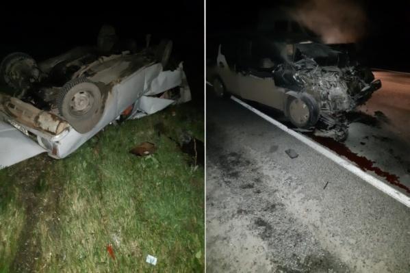 Авария получилась драматичной из-за огромной разницы скоростей