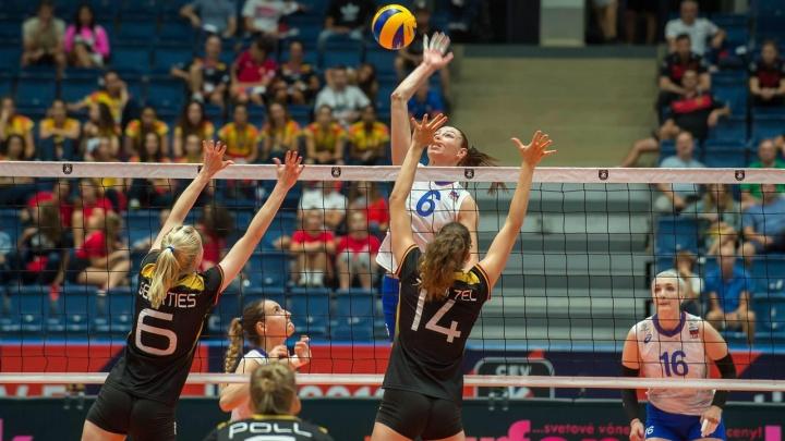 Сборная России уступила Германии на чемпионате Европы по волейболу